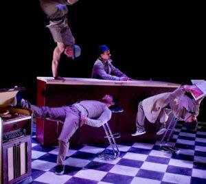 Illustration spectacle Ballet Bar - Les Fadas du Monde