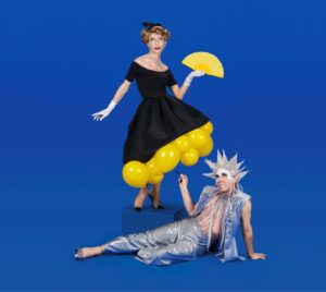 Illustration spectacle Troupe Madame Arthur - Fadas du Monde